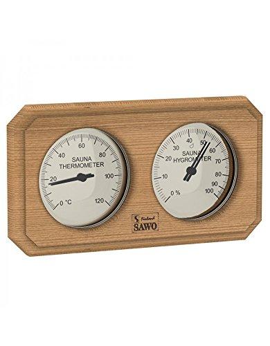 2 in 1 Sauna Thermometer mit Hygrometer