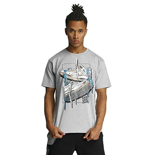 Dangerous DNGRS Sneaker Herren T-Shirt Grau Grau