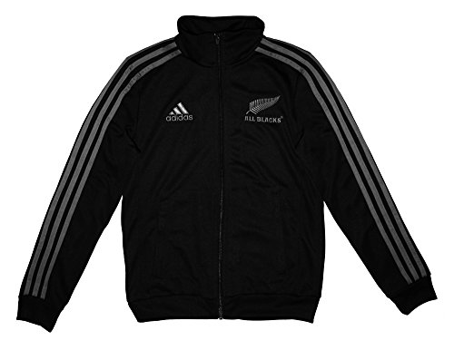 adidas ESS All Blacks Junior Boys Top, Schwarz, 15-16 Jahre