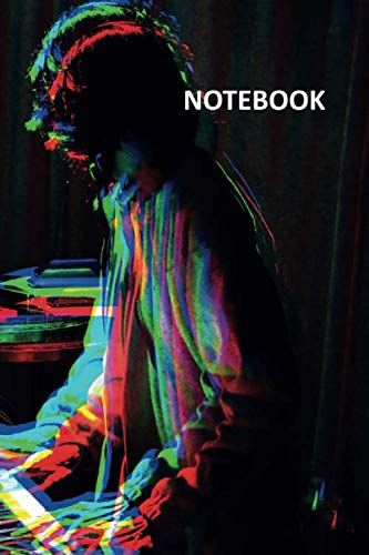 Notebook: Synthesizer for beginners Excellent Composition Book Daily Journal Notepad Diary Student for fans of acid house music