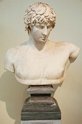 The Poster Corp Prisma Archivo/DanitaDelimont – Antinous Bust Statue Athens Greece Photo Print (27,94 x 43,18 cm)