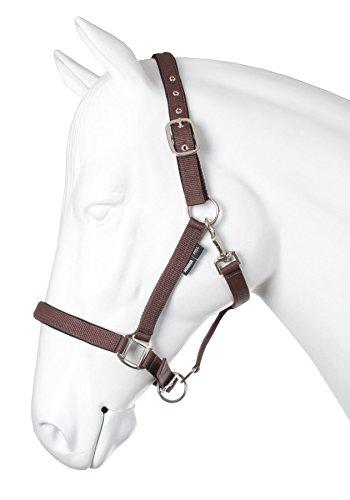 Horka Nylon Halter Cord Headcollar Buckle Adjustable Headpiece Horse Lead Rope 1