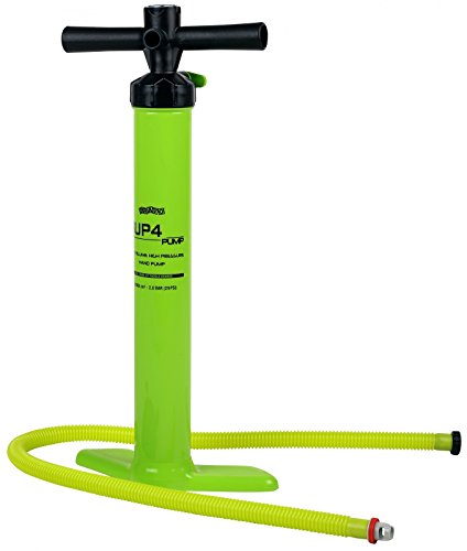 MESLE iSUP Pumpe SUP4, Doppelhub-Pumpe für aufblasbare Stand-up Paddling Boards
