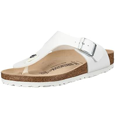 Birkenstock Ramses 44731, Tongs mixte adulte - Blanc, 35 (normal) EU