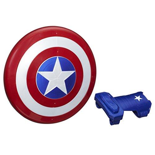 Hasbro Marvel Avengers Scudo e Guanto Magnetico Captain America, Unica, B9944EU6