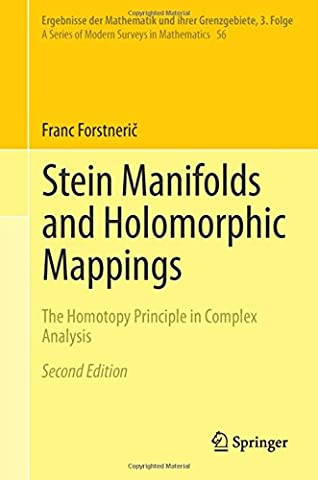 Stein Manifolds and Holomorphic Mappings: The Homotopy Principle in Complex Analysis