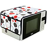 Red Hot Designer Microwave Top Cover