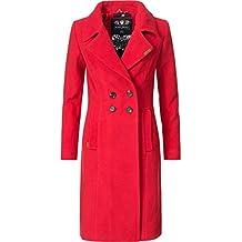 Navahoo Damen Wintermantel Winterparka Wooly 5 Farben XS-XXL ef23f9f5c2