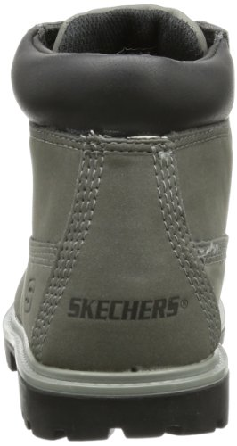 Skechers MeccaBunkhouse 93158L Jungen Stiefel Grau (Char)