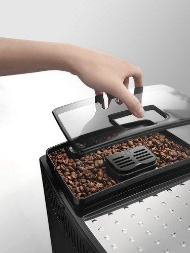 De'Longhi Magnifica S ECAM 22.110.B Kaffeevollautomat (Direktwahltasten und Drehregler, Milchaufschäumdüse, Kegelmahlwerk 13 Stufen, Herausnehmbare Brühgruppe, 2-Tassen-Funktion) schwarz - 6