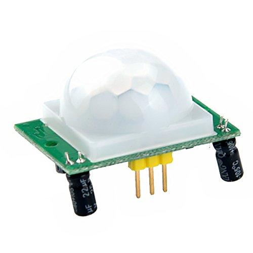 Foxnovo Modulo sensore di movimento PIR ad infrarossi HC-SR501 corpo umano Pyroelectricity
