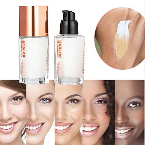 ARTIFUN Flawless Liquid Foundation Farbwechsel Natürliche Make-up-Basis Nackt Gesicht Concealer für alle Hautfarben (35ml) - Kno-finish