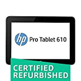 "(CERTIFIED REFURBISHED) HP Pro Tablet 610 G1 32 GB tablet - 10.1"" Intel Atom Z3775 Win 8.1 Graphite"
