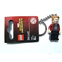 Lego Marvel Super Heroes Star-Lord Keyring / Key Chain - Official LEGO Product