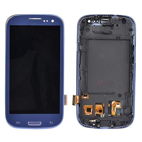 RecoverLOVE Conjunto de Pantalla Pantalla táctil LCD Pantalla Digital Juego de desmontaje (Azul Zafiro) para Samsung Galaxy S3 i9300 i9305