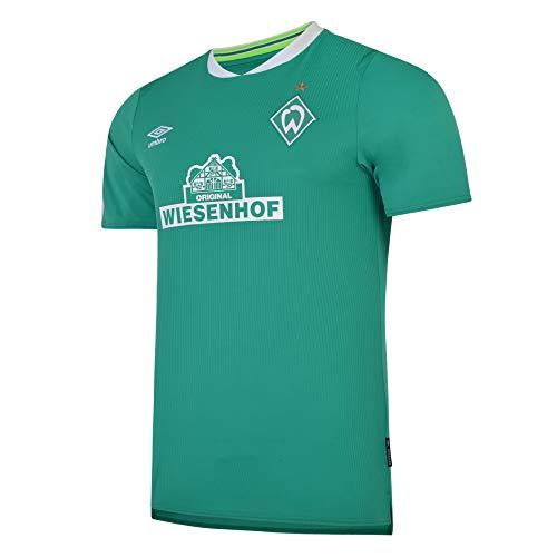 Umbro SV Werder Bremen Trikot Home 2019/2020 Kinder grün/weiß, S