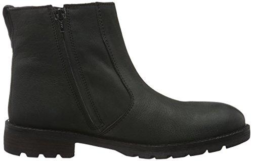 Bianco Herren Raw Chelsea Boot 66-71448 Schwarz (Black/10)