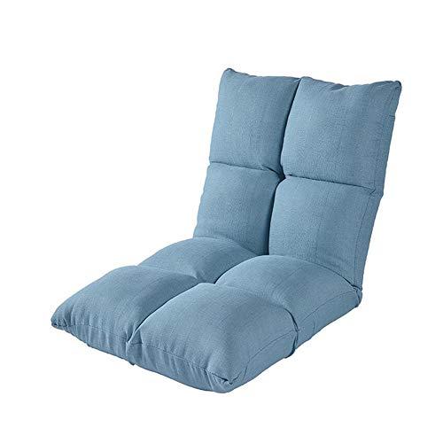 WGXX Klappstuhl Stuhl Fußboden Sofa Liege Bett Einstellbar Faltbar Sitz Sich Ausruhen Rückenlehne Meditation Lesen (Farbe : T1) -