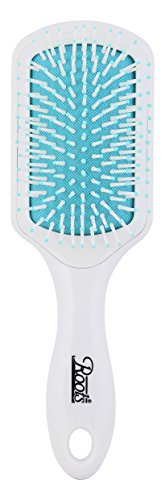 Roots Hair Brushes - Paddle Hair Brush - White
