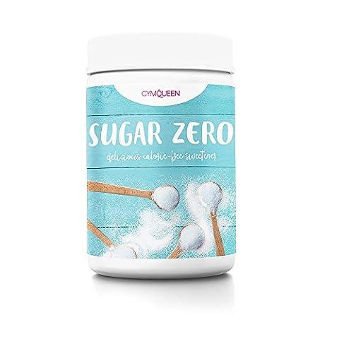 Zuckerersatz / Süßungsmittel ohne Kalorien – gewonnen aus Mais ❤ Queen Sugar Zero (1kg) von GymQueen ❤ Erythrit Zucker ohne Kohlenhydrate / low carb auch für Diabetiker ❤ Süßstoff zum Backen