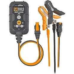 Hi-Q Tools Ladegerät Motorradbatterie Batterieladegerät PM750 Canbus, 6/12V 750mA, für Blei-Säure, Multipurpose, Ganzjährig, Kunststoff