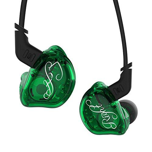 KZZSR Auriculares in-ear con cable Hifi, auriculares estéreo de graves pesados con...