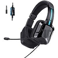 Tritton Kama + Negro – Auriculares de Diadema Gaming con micrófono para PC/Mac/