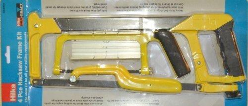 """Hilka 4 Piece Hacksaw Frame Kit 12""""/ 300mm Test"""
