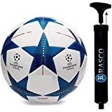 RASCO Combo Blue Star Football with AIR Pump