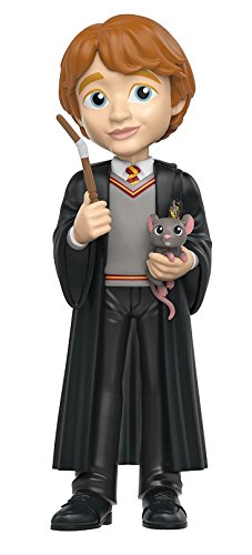 Harry Potter Figura de vinilo Ron, colección Rock Candy (Funko 14072)