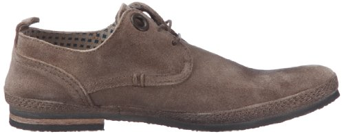 Kickers Duo, Chaussures à lacets homme Gris clair