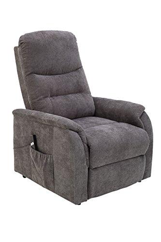 Wohnorama TV-Sessel einmotorisch inkl Aufstehhilfe u Relaxfunktion FM-556L von FEMO Grau by
