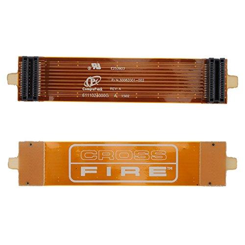 BisLinks® CrossFire AMD ATI Brücke Verbinder Biegen Flexibel Kabel 100mm 10cm 4