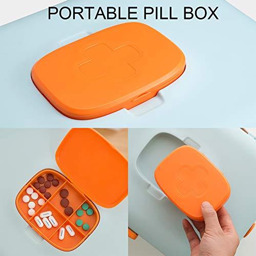 41hKd5eBetL - DreamyLife Caja de Almacenamiento de Medicamentos Caja de Medicamentos Caja Maquillaje Botiquín Caja de Almacenamiento de Plástico Botiquín de Primeros Auxilios