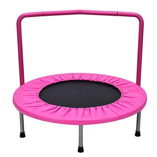 LKFSNGB Kindertrampolin, kleines Fitness-Trampolin mit Griff, für den Außen- und Innenbereich geeignet, Gewicht: 60kg