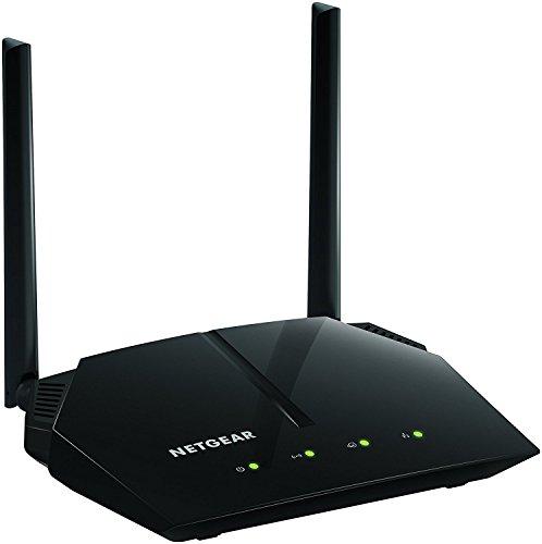 Netgear R6120-100INS AC1200 Dual-Band Wi-Fi Router (Black)