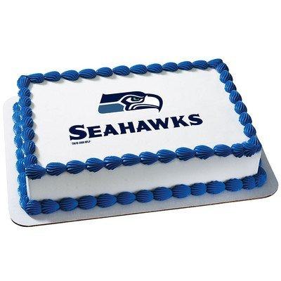 Seattle Seahawks Lizenzprodukt Essbar Kuchen, Topper # 4635DecoPac (Decopac-kuchen)