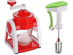 DHYAN Combo Ice Maker (Gola Maker) & Manual Hand Blender