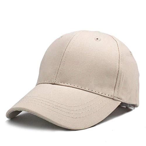 BQMLKF Herren-Baseballmütze KinderEinfarbigKappen BaseballmützeFrühling Sommer Hip Hop Junge Mädchen Baby Hüte Für 3-8 Jahre Alt Grün, Cremefarben