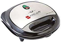 Cello Super Club 300 750-Watt Sandwich Maker (Black)