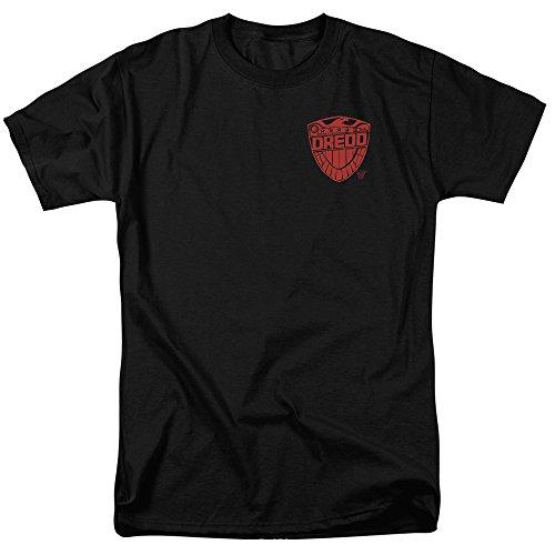 Trevco Men's Judge Dredd Badge Adult T-Shirt