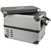Klarstein Survivor 35 Nevera Congelador portátil • 35 litros capacidad • Temperatura interior regulable -22 hasta 10 °C • 2 compartimientos • Puerto USB • Nevera-congelador • Red eléctrica o toma de mechero de coche • Movilidad y libertad