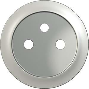 Legrand Celiane LEG99995 Enjoliveur de remplacement pour Prise de courant avec ou sans terre Titane