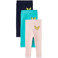 Day 2 Day Baby Boys' Joggers (263989332_Multi colored_03M)(Pack of 3)