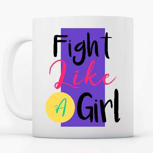 Positivos Tazas Cerámica Fight Like a Girl