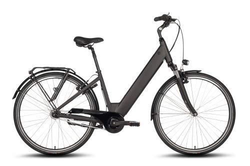 Mittelmotor E-Bike mit integriertem Akku, 7 Gang Schaltung und Rücktrittbremse