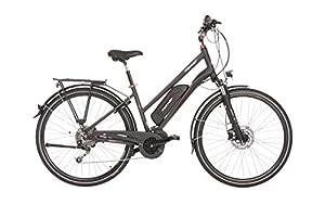 FISCHER E-Bike TREKKING Damen ETD 1820, Anthrazit, 28