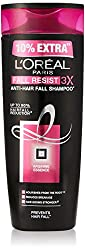 LOreal Paris Fall Resist 3X Anti-Hair Fall Shampoo, 360ml with Free 36ml