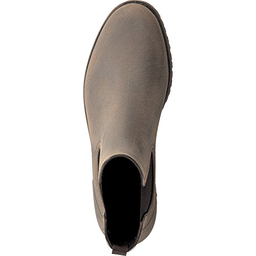 "Gosch Shoes Sylt - Damen Chelsea Gummistiefel ""Priel"" in 2 Farben - made in EU khaki-schlamm"
