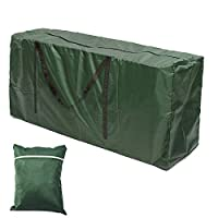 Librao Garden Furniture Cushions Carry Bag Large Lightweight Patio Furniture Seat Pads Storage Bag with Handle